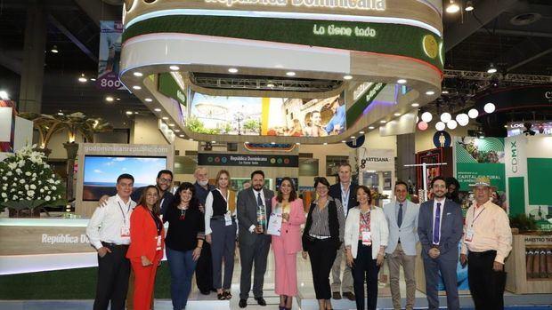 "República Dominicana logra premio de ""Mejor Stand"" en feria IBTM Américas en México"