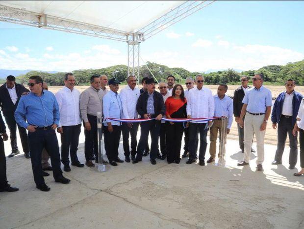Presidente Danilo Medina entrega 11 obras de riego en Alto Yaque del Norte