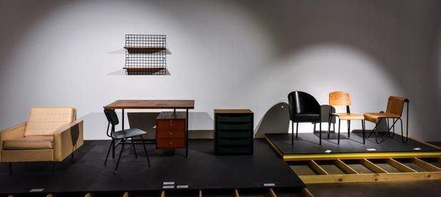 Una exposición muestra los cambios en los modos de vida a través del diseño interior