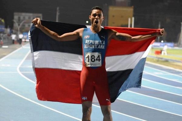 Juander Santos bronce en 400 vallas en el atletismo de Barranquilla 2018
