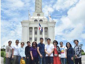 Delegación de la República Popular China en su visita a Santiago de Los Caballeros.