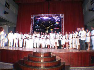 Ganadores premiación Caribbean Gold Coast Awards.