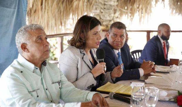 La vicepresidenta Margarita Cedeño pide unidad del PLD