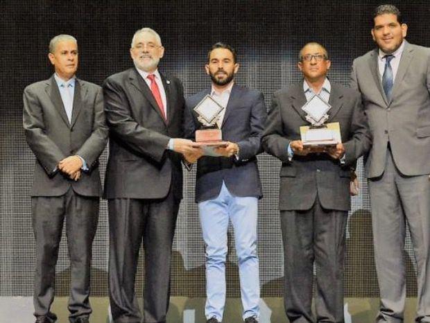 Premiación a 'El Atleta del Año' de Santiago, que realizó la Asociación de Cronistas Deportivos de Santiago (ACDS) en el Gran Teatro del Cibao.