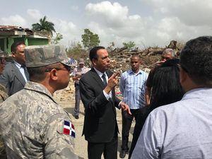 Ministro de Educación, Antonio Peña Mirabal, realizó visita de supervisión a los terrenos adquiridos por el Minerd donde se construirán dos estancias infantiles.