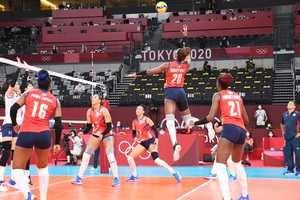 Las dominicanas encajan ante Corea su tercera derrota en Tokio 2020.