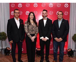 Stefan Marinov, Dashiel Duran, Ciaran Hayes y José Luis Montero.