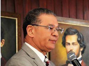 El doctor Wilson Gómez Ramírez, presidente del Instituto Duartiano.