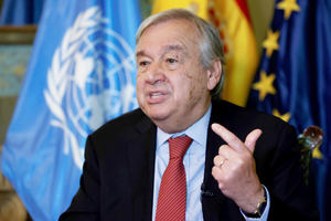 El secretario general de la ONU, Antonio Guterres.