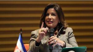 Imagen de archivo de la vicepresidenta de República Dominicana, Margarita Cedeño.