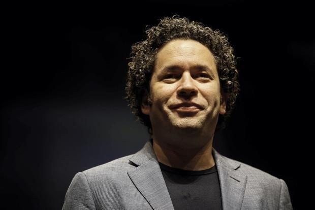 En la imagen, el afamado director de orquesta venezolano Gustavo Dudamel.