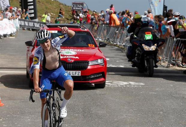 La Vuelta Ciclista a España 2021 concluirá en la cima de Picón Blanco