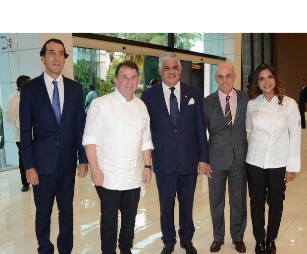 Daniel Lozano, Martín Berasategui, Miguel Vargas, Alejandro Abellán García de Diego y Inés Páez (Chef Tita