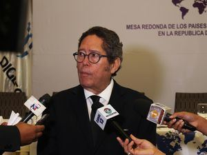 Fernando González, presidente de la Mesa Redonda de la Mancomunidad.