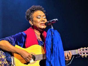 La cantante Xiomara Fortuna.