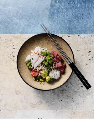 Uno de los platos del nuevo concepto gastronómico Blue Bar & Grill.