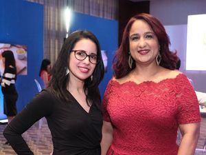 Ana Violeta Rivas y Adriana Hidalgo.