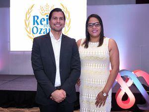Eduardo López y Mirelbi Valerio.