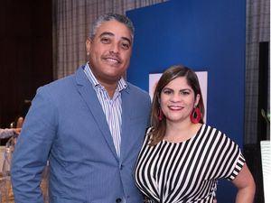 Tomas Hernández y Geovanna Abreu.