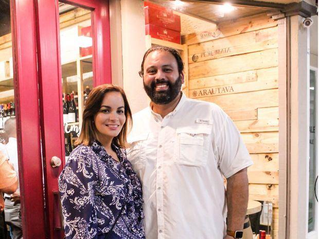 Marie Estrada y José Gregorio Cabrera