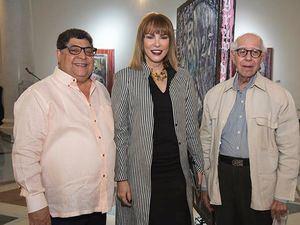 Nicolás Suriel, Milagros Germán y Eugenio Pérez Montás.
