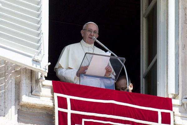 Papa Francisco en su alocución