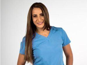 Cirujana oncóloga dominicana Mirna Santiago.