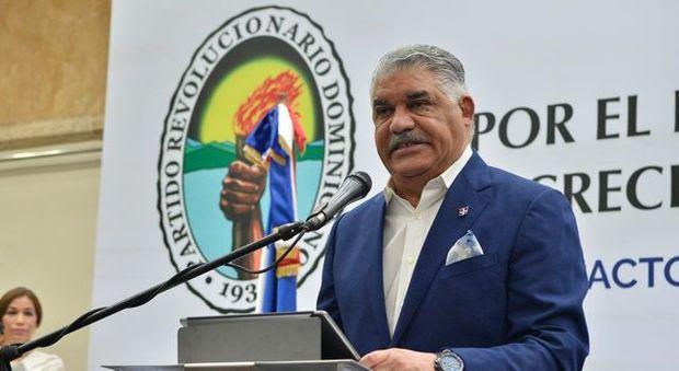 Miguel Vargas, presidente PRD.
