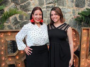 Marleny Mosquera y Julia Díaz.