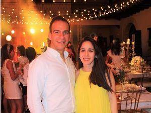 Vasco José Leal y Linette Arzeno.