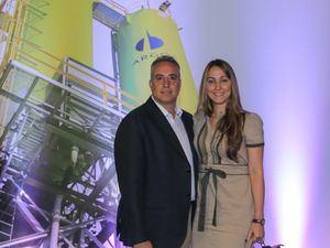 Juan Carlos Aponte y Patricia García.