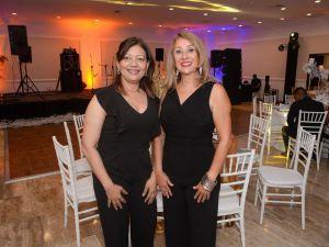 Sandra de la Cruz y Pilar de Peña.