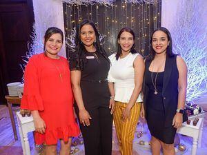Roselys Checo, Claribel de los Santos, Danilda del Villar y Anelfi Mota