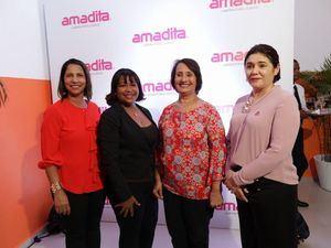Jaqueline de la Cruz, Soneirys Feliz, Belkis Billini y Mariana Echavarría.