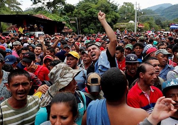 Partido Nacional responsabiliza a oposición de promover migración hondureños