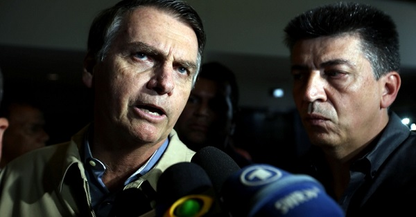 Un nuevo sondeo dice que Bolsonaro ganará las elecciones en Brasil con el 57 por ciento