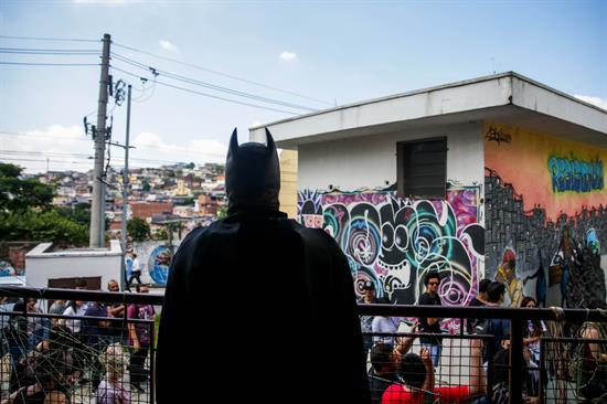 """""""Cómic Con de las favelas"""" dispuesto a democratizar la cultura pop en Brasil"""