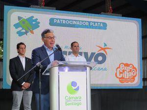 Juan Carlos Hernández, Presidente CCPS, encargado de las palabras centrales.