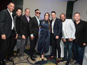 Grisbel Medina junto a prestigiosos artistas de diferentes géneros.