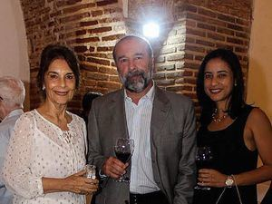 Lucía Amelia Cabral, Javier Herrera e Irka Segura.