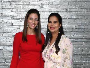 Paola Tejera y Michelle Suzaña.