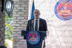 El primer ministro de Haití, Ariel Henry.