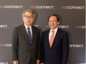 Hiroyuki Makiuchi Embajador de Japón y Erwin Miyasaka.