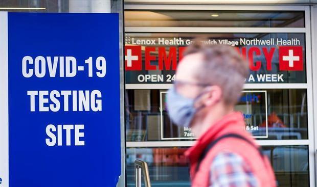 EE.UU. registra más de 3.000 muertes en un día por Covid-19, equivalente a un 11S