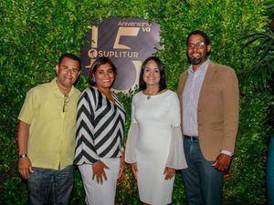 Osvaldo Paulino, Yahaira Pérez, Wendy Rojas, Miguel Morales.