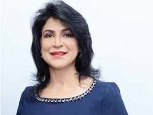 Presidenta del Consejo Directivo de la FDD, la señora Amelia Reyes Mora.