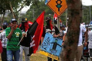 Manifestación en Nicaragua.