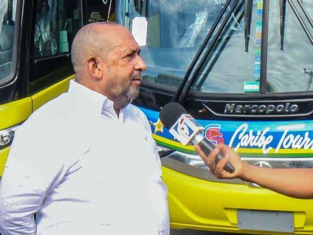 Paúl Guerrero Melo, vicepresidente administrativo de Caribe Tours.