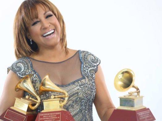 Con la fuerza que la caracteriza encabeza Milly Quezada la nominación a los Latin Grammy 2019