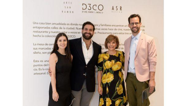 Amanda Ferreira, Ramón Emilio Jiménez, Susy Guzmán y Jorge Brown.